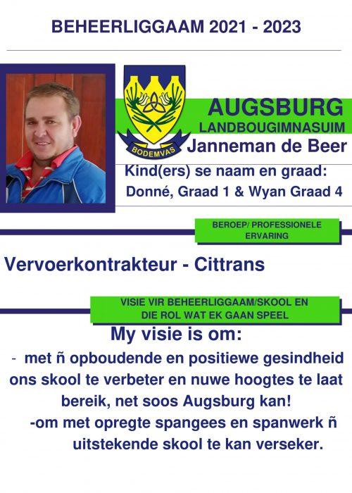 Janneman de Beer ALG-1